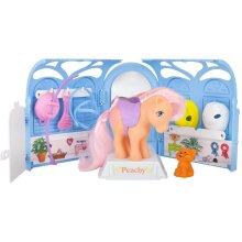 My Little Pony My Retro Pretty Parlor Playset, Includes Peachy