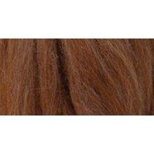 Clover Natural Wool Roving .3oz-Caramel