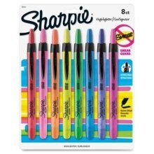 Sharpie 28101 Accent Retractable Highlighters, Assorted Colors