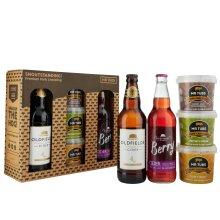 Mr Tubs Pork Crackling & Oldfields Original & Berry Cider Gift Set