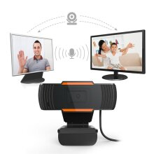 HD USB Webcam with microphone