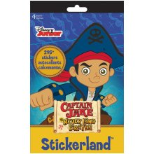 Stickerland Pad - Captain Jake and the Neverland Pirates - 4 pages Toys Gifts Stationery New st5270