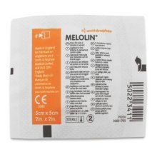 Melolin Wound Dressing 5cm x 5cm - 1 x 100 pack