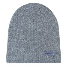Superdry Tois Blue Grit Classic Beanie