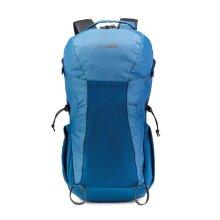 Pacsafe Venturesafe X 34L Anti-Theft Hiking Backpack - Blue Steel (Ex-Sample)