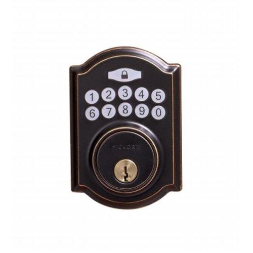 Hickory Hardware HH075772-ABZ Electronic Keypad Deadbolt, Aged Bronze