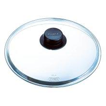 Pyrex 4937233 Glass Lid for Saucepan / Frying Pan - 27 x 26.5 x 7 cm – Transparent