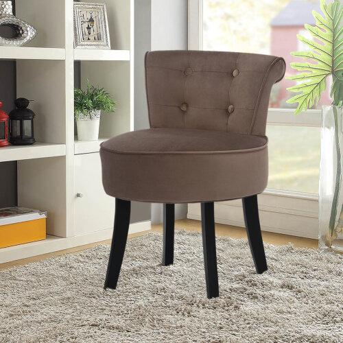 Dressing Table Chair Vanity Makeup Stool Pad Footstool Bedroom Chair