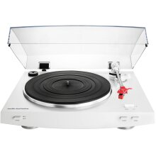 Audio Technica AT-LP3WH Record Turntable Hi-Fi System White