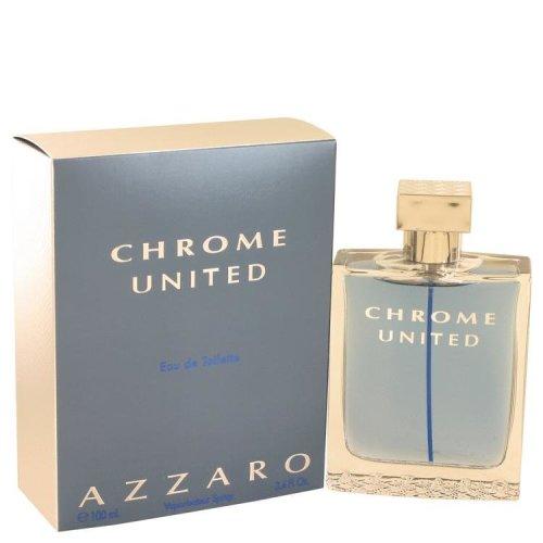 Chrome United by Azzaro Eau De Toilette Spray 3.4 oz