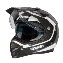 Spada Intrepid Dual Sport Motorcycle Helmet Black