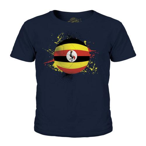 Candymix - Uganda Football - Unisex Kid's T-Shirt