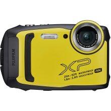 Fujifilm FinePix XP140 Compact Digital Camera, Yellow