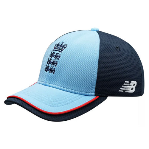 2021/22 New Balance ECB England One Day ODI Cricket Cap - Blue