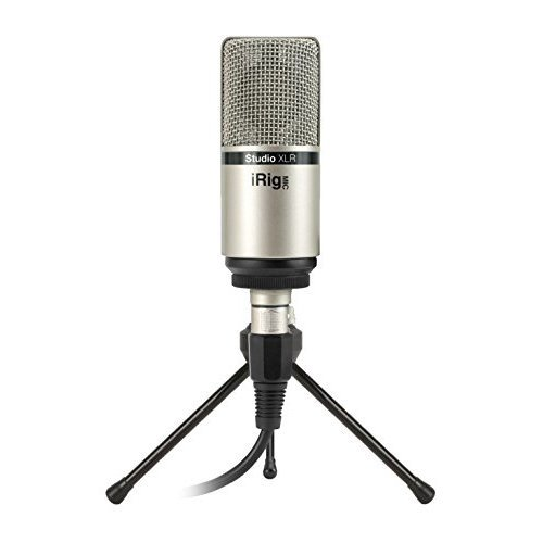 IK Multimedia Mic Studio XLR Large-Diaphragm Studio Condenser Microphone