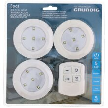 Grundig Wireless Remote Control LED Counter Lights