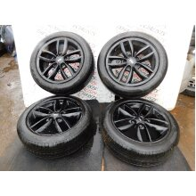 MINI COUNTRYMAN COOPER R60 10-17 SET OF ALLOY WHEELS + TYRES 205-55-17 9803726 V - Used