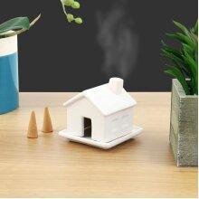 Gift Republic Incense House Shaped Sandlewood Fragrance Burner Gift Set