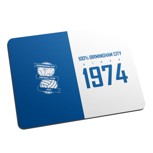 Official Personalised Birmingham City FC 100 Percent Mouse Mat