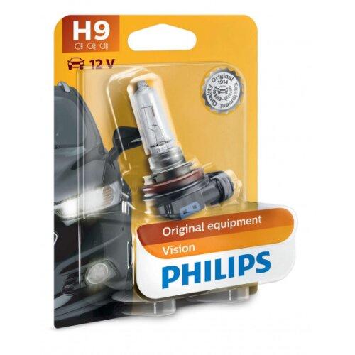 car lamp H9 Vision12V 65W white