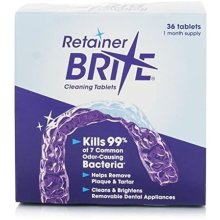 Orthocare Retainer Brite Cleaning Tablets - 36 Tablets