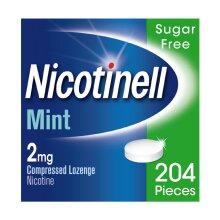Nicotinell mint 2mg Lozenge - 204 Lozenges