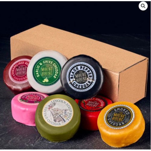 Mouse House 7 x 200g Truckle Cheese Gift Box