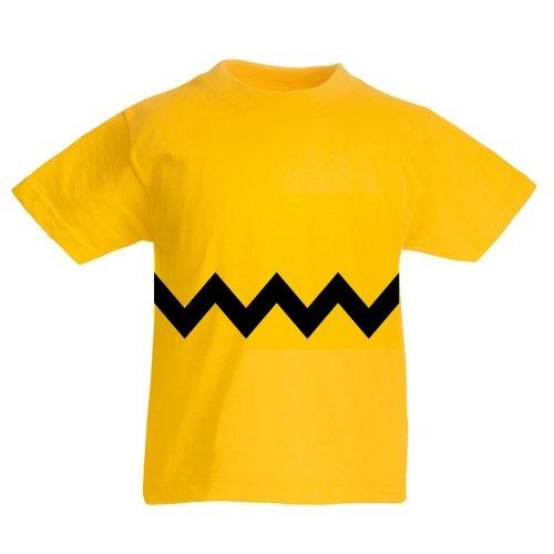 (XXXS) Children's Charlie Brown T-Shirt