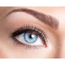One Tone Blue Contact Lenses - Coloured Contact Lenses