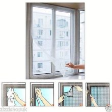 Window Insect Screen Hook Loop Mesh Netting Protection Bug Fly Moth Mosquito Net