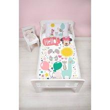 Disney Minnie Mouse Children's Cot Bed Duvet Junior Toddler Bedding Duvet Cover   Little Friends Design