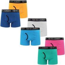 Tokyo Laundry Men's Nantes 2 (2 Pack) Boxer Shorts Set