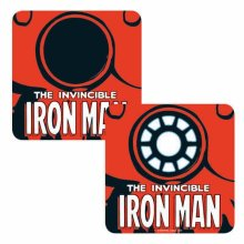 Iron Man Coaster Invincible Iron Man new Official Marvel Lenticular