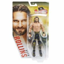 WWE Basic Wrestlemania Series - Seth Rollins Figure