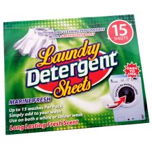 Laundry Detergent Sheets - 15 Outstanding Cleaning Performance Sheets