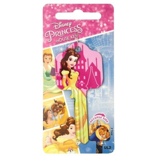 Disney Princess Belle From Beauty & The Beast Universal UL2 6-Pin Cylinder Key Blank