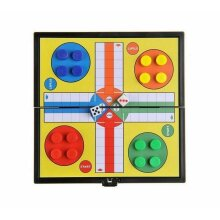 Large Ludo Traditional Board Game Gift For Adult Children 33 x 33cm