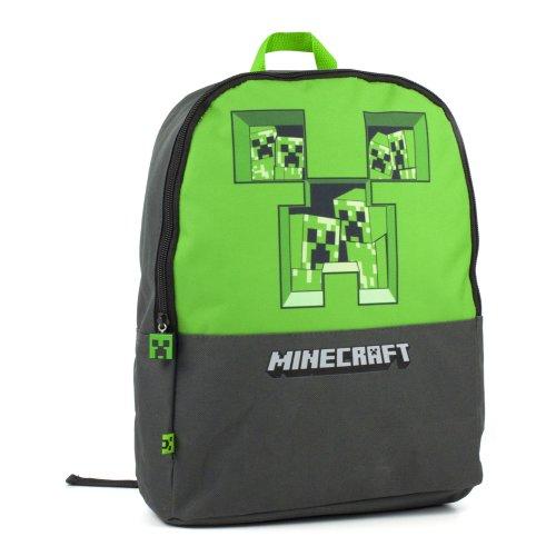 Minecraft Pixel Creeper Backpack