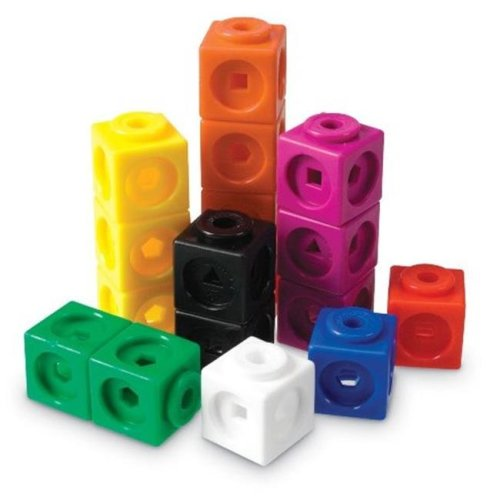 Learning Resources LER4285 Mathlink, Cubes - 100