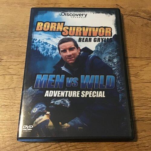 Born Survivor Men vs Wild Adventure Special Dvd - Used