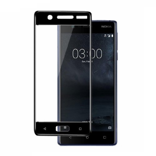Full Cover 3D Tempered Glass Screen Protector for Nokia 5
