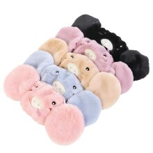 New Winter Earmuffs Outdoor Mouth Cover Piggy Cat Velvet Ear Warmer Earlap