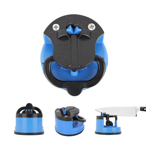 Knife Sharpener Diamond Sharp with Suction Pad For Knives Scissors