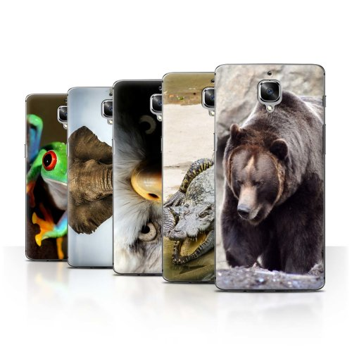 Wildlife Animals OnePlus 3/3T Phone Case Transparent Clear Ultra Slim Thin Hard Back Cover for OnePlus 3/3T