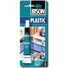 1 x 6305315 Bison Rigid Hard Plastics Repair Adhesive Glue 25ml Extra Strong and Waterproof
