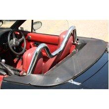 Mazda MX5 - Mk1 (NA) 89-98 - BLACK LEATHER TONNEAU COVER - RARE! tornea tonno - Used