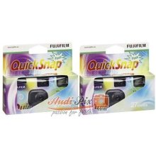 Fujifilm 7130786 QuickSnap 400 Disposable Flash Camera (Pack of 2)