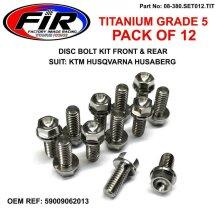 FIR TITANIUM KTM DISC BOLT BOLT SET KTM SX 125 SX150 SX250 SXF250 SXF350 SXF450