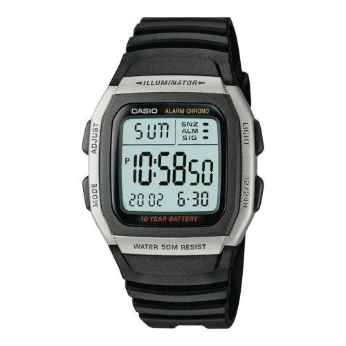 Casio Men's Digital Sports Watch | Stainless Steel & Rubber Watch