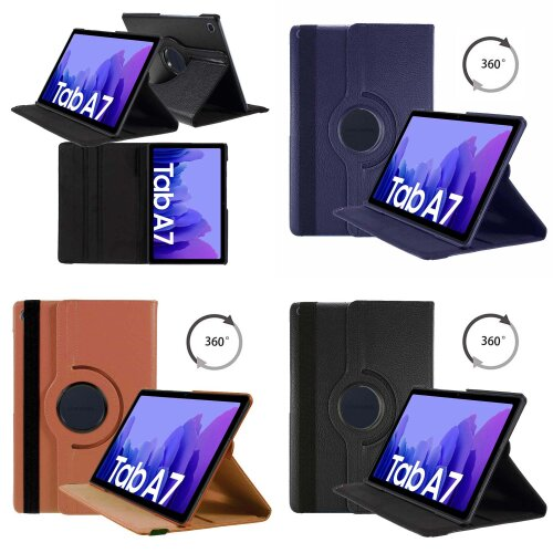 Case For Samsung Galaxy Tab A7 10.4in 2020 PU Leather 360 Rotating Cover